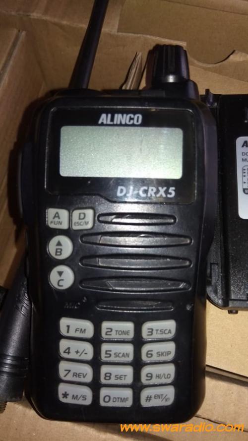 Dijual Ht Alinco DJ-CRX 5 mulus nyaris baru | swaradio com