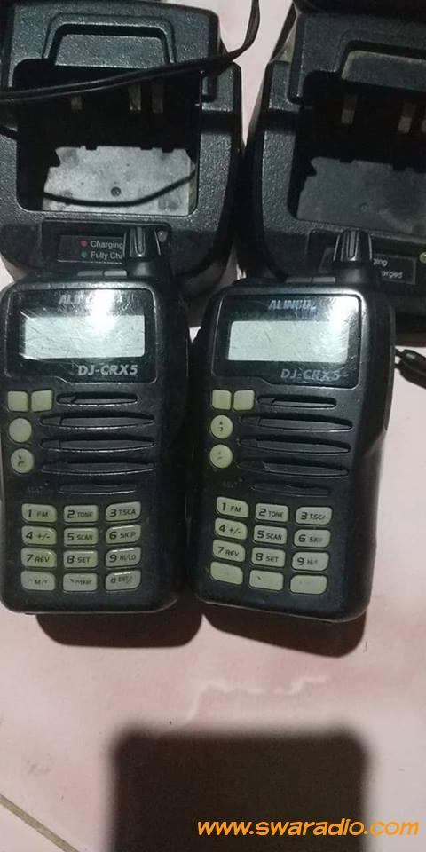 Dijual 2 unit Alinco dj-crx5 charger ada | swaradio com
