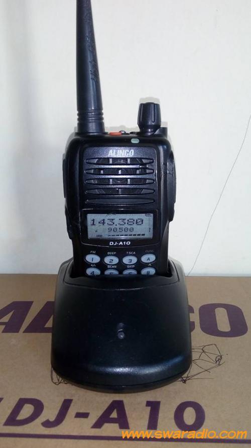 Cara setting ht alinco dj a10 untuk mengatur frekuensi cara setting.