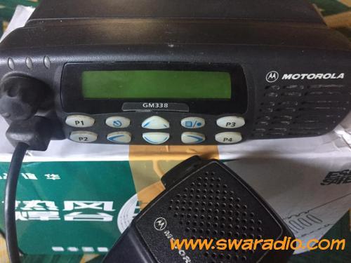 Dijual Motorola GM338 VHF Versi 25watt Kelengkapan Radio dan