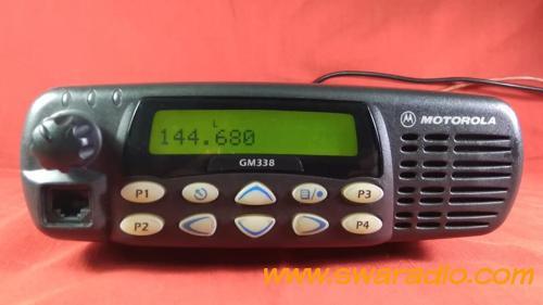 dijual Motorola gm338 vhf 45 watt, normal semua mulus