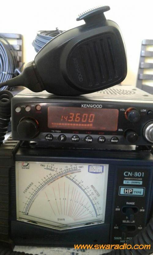 dijual RIG KENWOOD DUALBAND KENWOOD TM-702A daleman ori   swaradio com