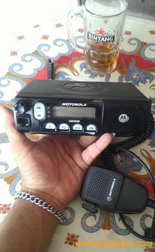 Dijual Motorola GM3688 VHF Tipe 25W Sehat Dan Normal 2